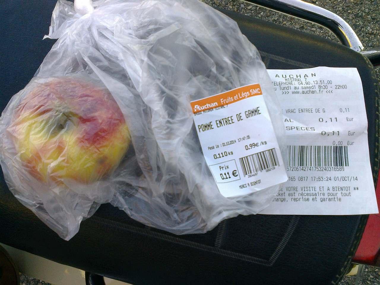 Tranche de vie ...  Pomme-11-centimes