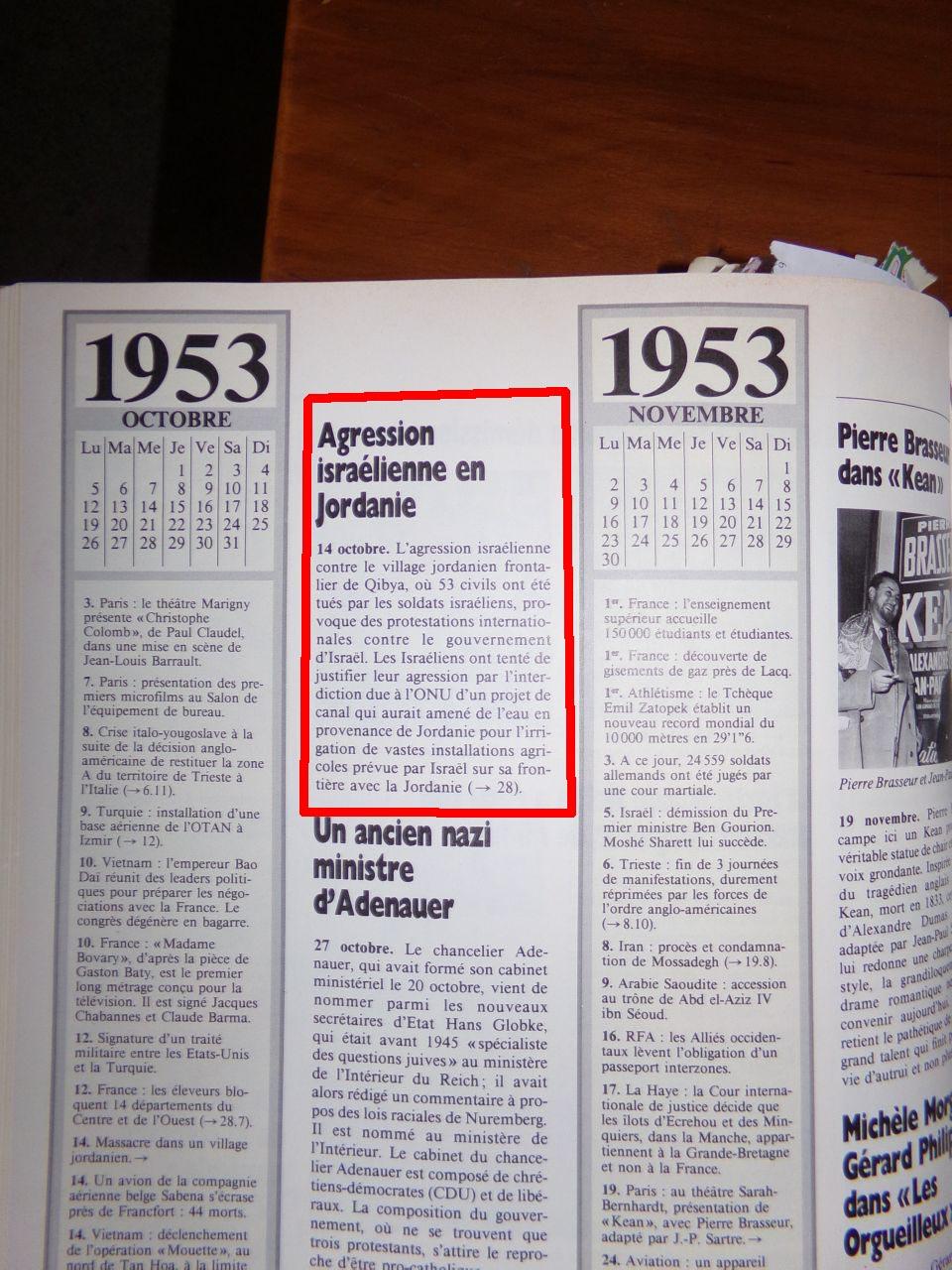 Un peu d'Histoire ...  L'origine de la création de l'état d'israël, 1947 ou 19° siècle ?  Chroniquedu20esiecle-25